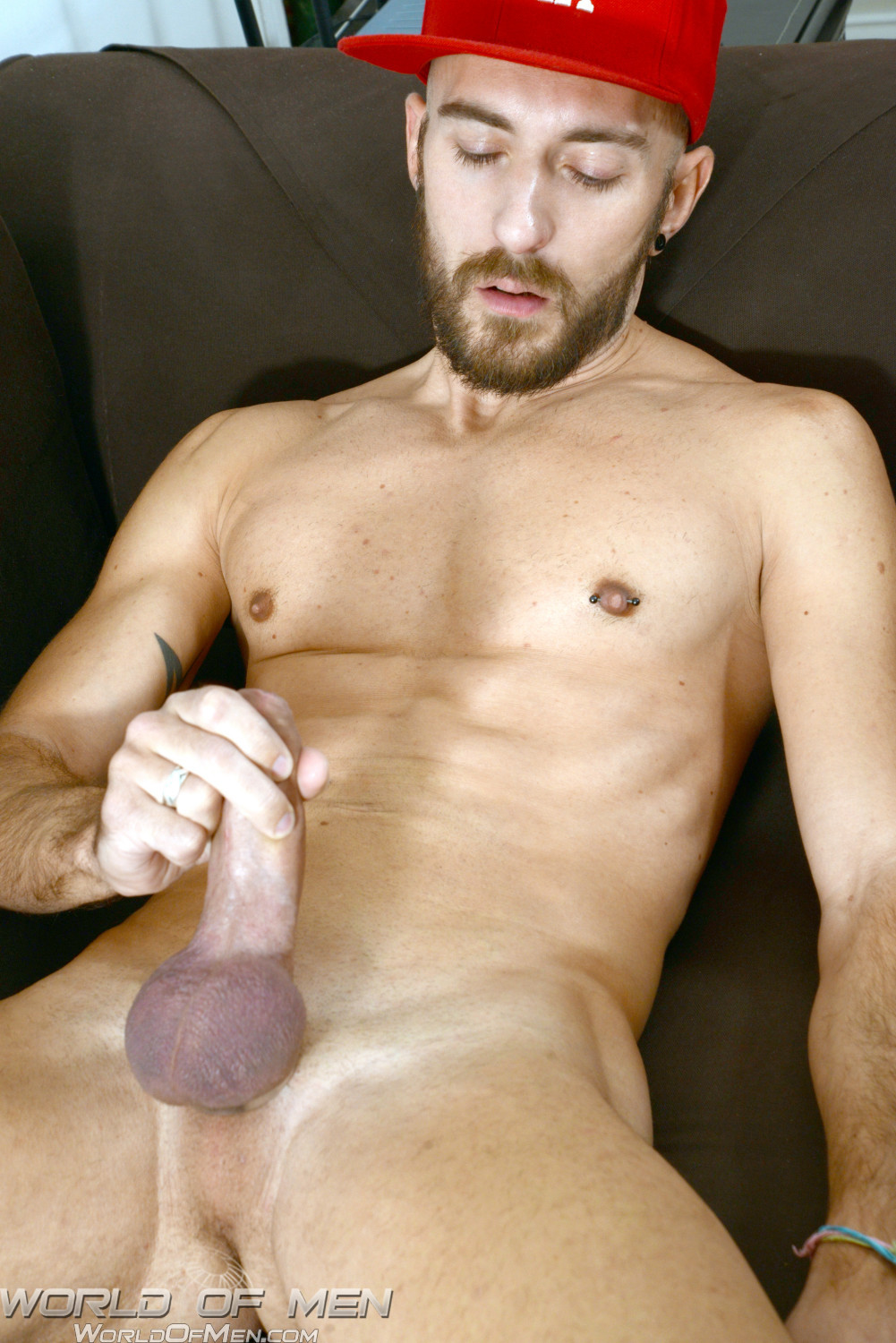 World-of-Men-Enzo-DiKarina-french-guy-with-a-huge-uncut-cock-massive-cum-load-09 Amateur French Hustler With Huge Uncut Cock Blasts Cum All Over