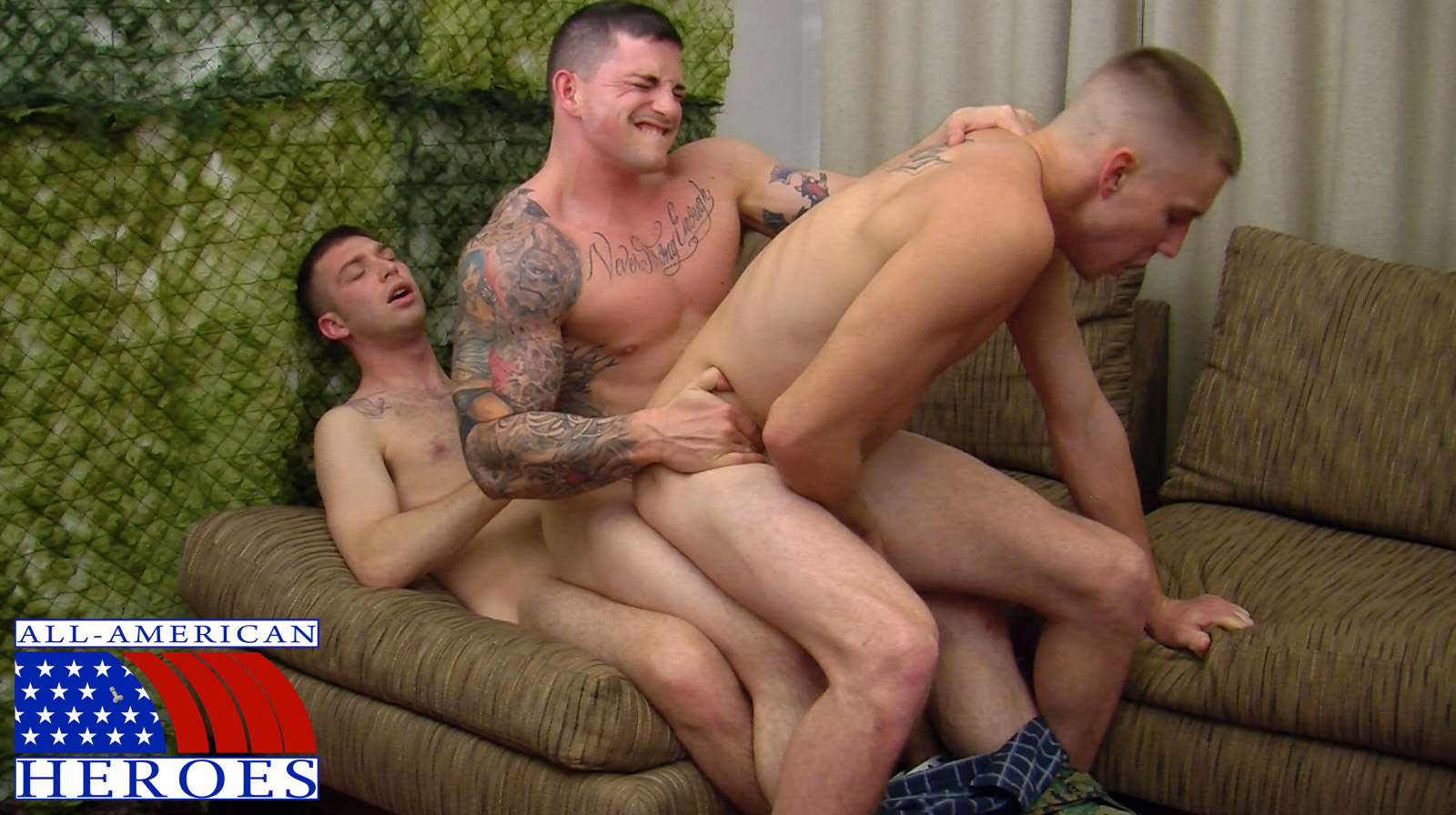 American naked soldiers gays with very big 6
