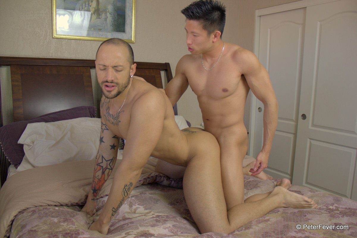 Peter-Fever-Jessie-Lee-and-Jordano-Latino-and-Asian-fucking-Amateur-Gay-Porn-17 Amateur Muscle Asian Hunk Fucks A Hot Latino Stud Hard
