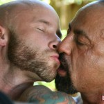 Butch-Dixon-Bo-Bangor-and-Drake-Jaden-Barebacking-Daddy-Muscle-Tatted-Stud-Amateur-Gay-Porn-05-150x150 Tatted Muscle Daddy Fucks His Younger New Neighbor Outside