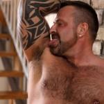 Butch-Dixon-Marc-Angelo-Muscle-Bear-Masturbating-Big-Uncut-Cock-Amateur-Gay-Porn-01-150x150 Hairy Canadian Muscle Daddy Bear Strokes His Big Uncut Cock