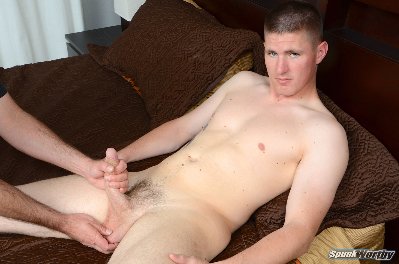 Straight guys handjob gallery gay xxx 6
