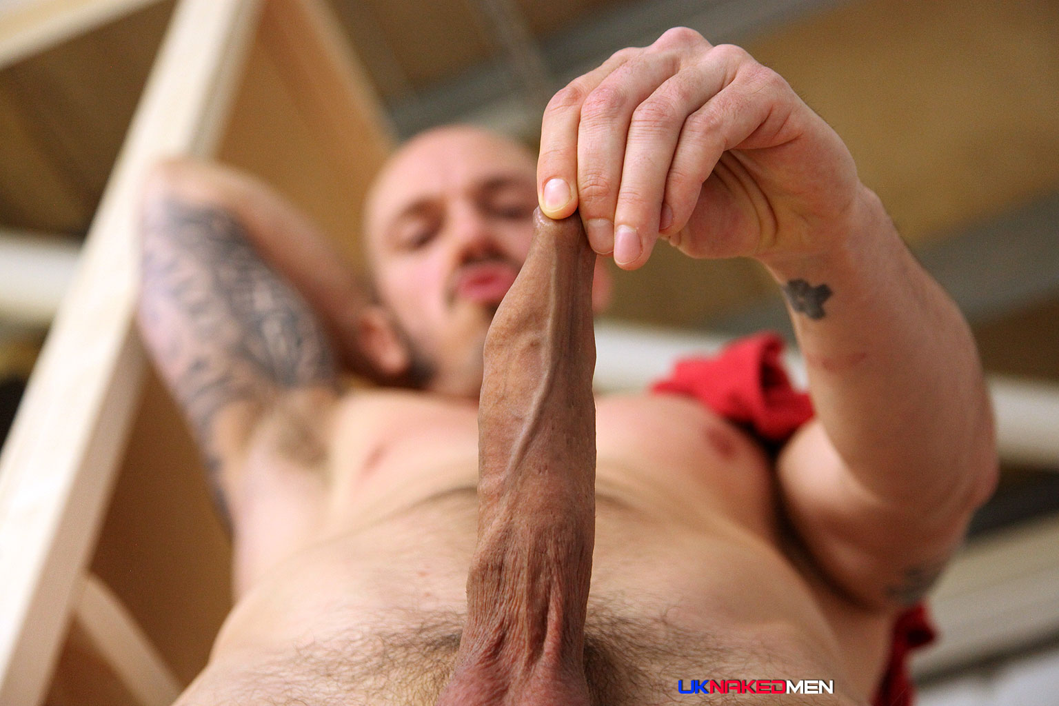 UK-Naked-Men-Antionio-Garcia-and-Jason-Stark-and-Valentin-Alsina-Huge-Cock-Fucking-Amateur-Gay-Porn-18 Peeping Tom Watches Two Masculine Uncut Guys Fucking