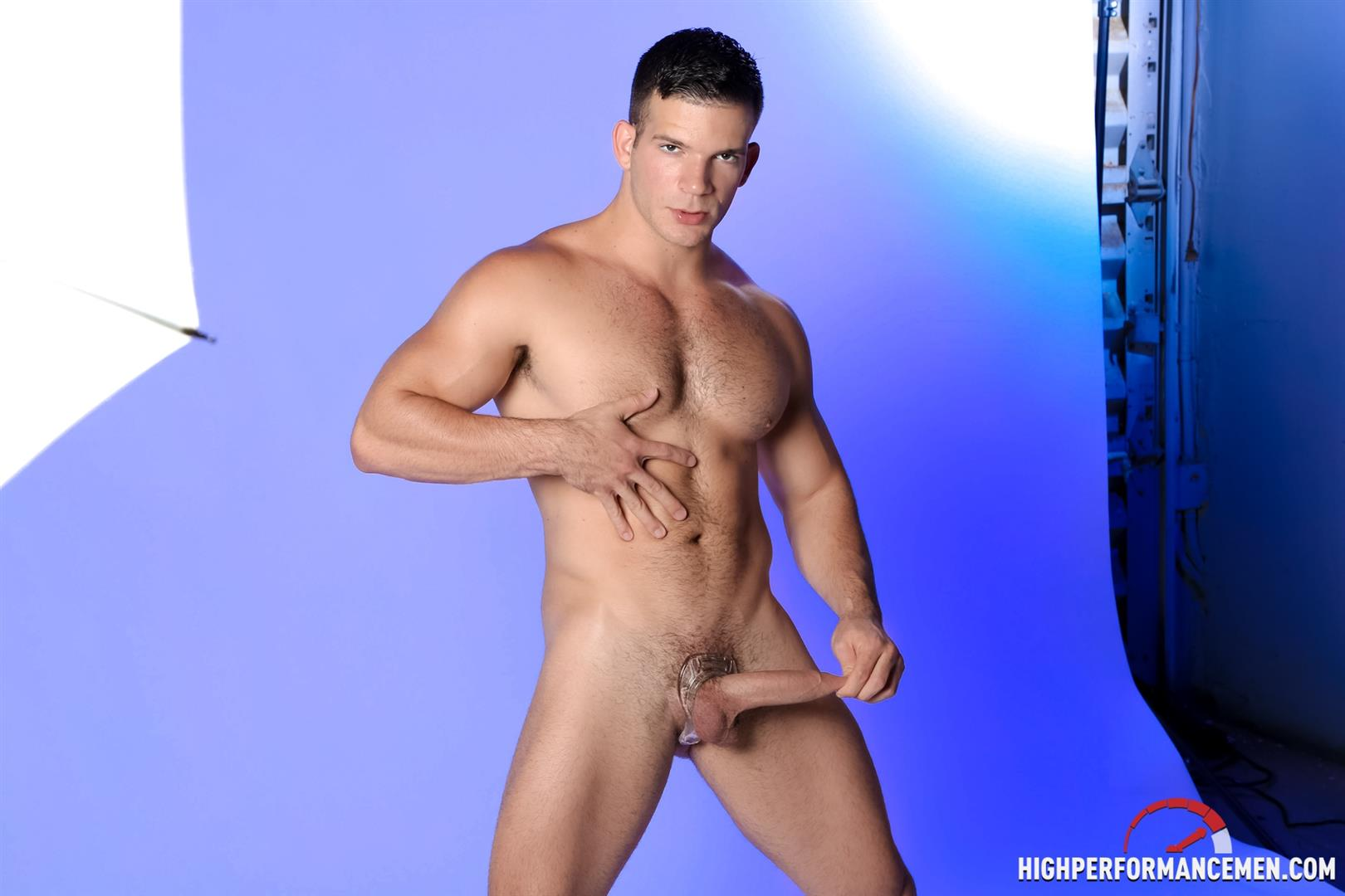 High-Performance-Men-Angel-Rock-Big-Uncut-Cock-Jerking-Off-Latino-Amateur-Gay-Porn-12 Muscle Hunk Angel Rock Jerking Off His Big Uncut Cock