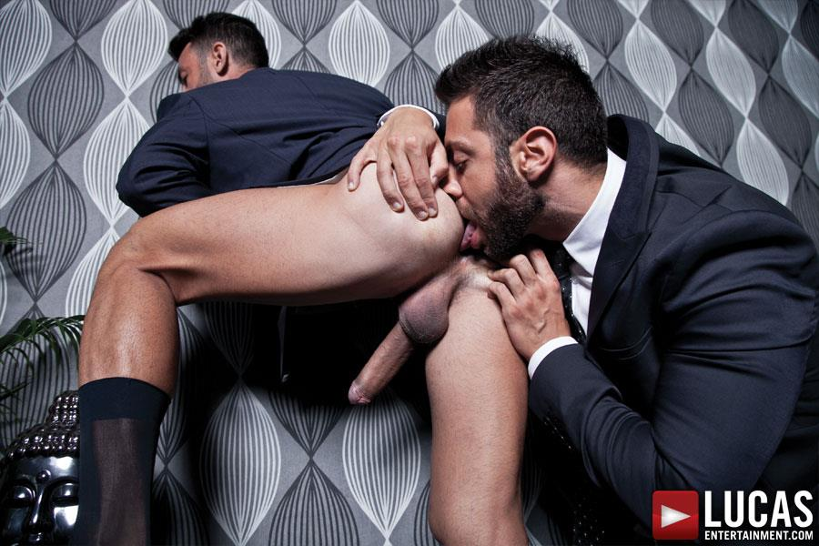 Lucas-Entertainment-Adriano-Carrasco-and-Valentino-Medici-Huge-Uncut-Cocks-Men-In-Suits-Fucking-Amateur-Gay-Porn-10 Hunks In Business Suits With Big Uncut Cocks Fucking Hard