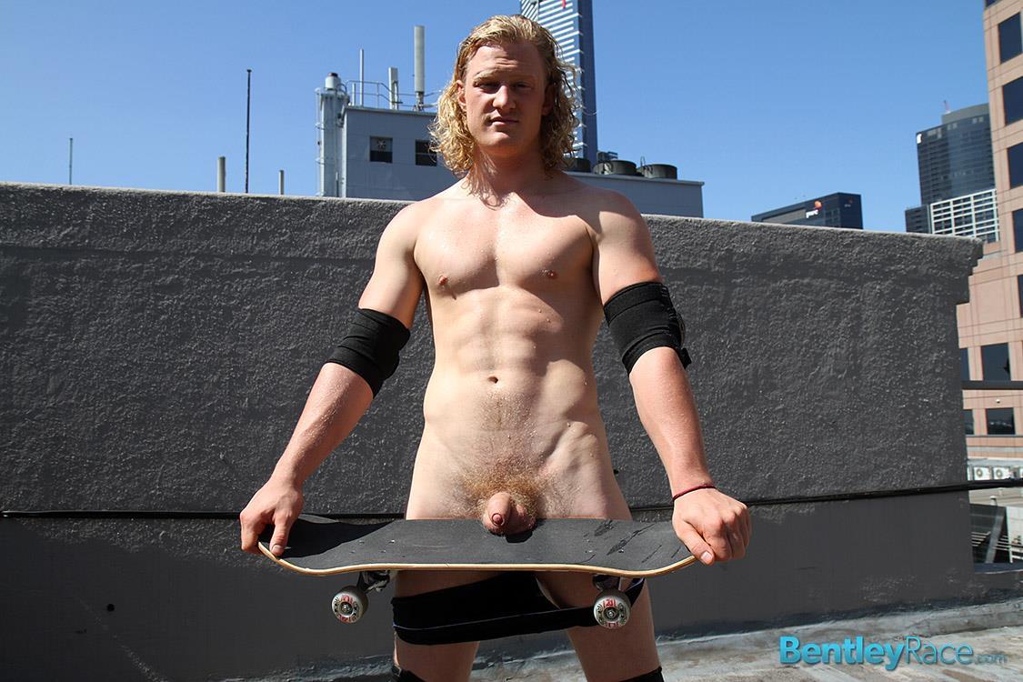 Bentley-Race-Shane-Phillips-Aussie-Skater-Showing-Off-His-Hairy-Uncut-Cock-Amateur-Gay-Porn-27 Aussie Skateboarder Shows Off His Hairy Uncut Cock In Public