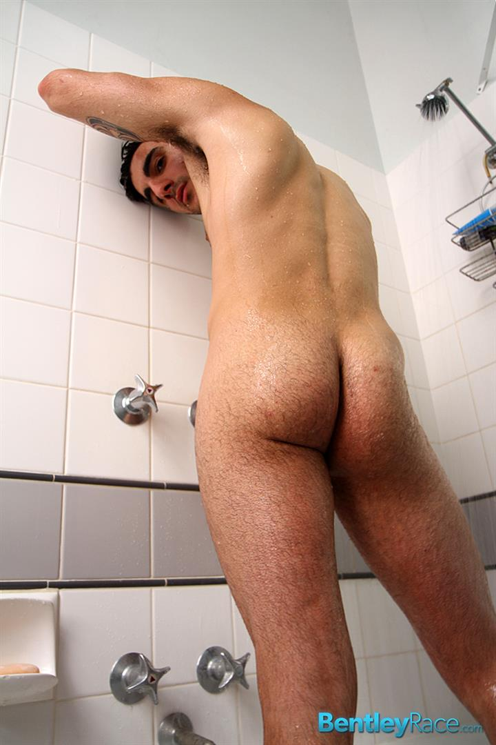 Hunky Chris Jerking His Massive Cock