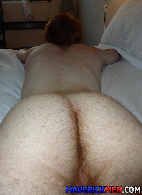 Maverick-Men-Hunter-Josh-Big-Cock-Daddys-Fucking-Ginger-Redhead-Amateur-Gay-Porn-09 Young Virgin Ginger Twink Gets Two Thick Daddy Cocks Bareback
