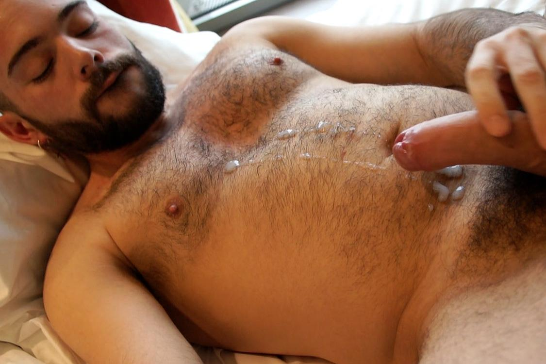 Bentley-Race-Anthony-Russo-Hairy-Italian-Jerking-Off-His-Big-Uncut-Cock-Amateur-Gay-Porn-29 24 Year Old Italian Stud Squirting Cum From His Big Uncut Cock