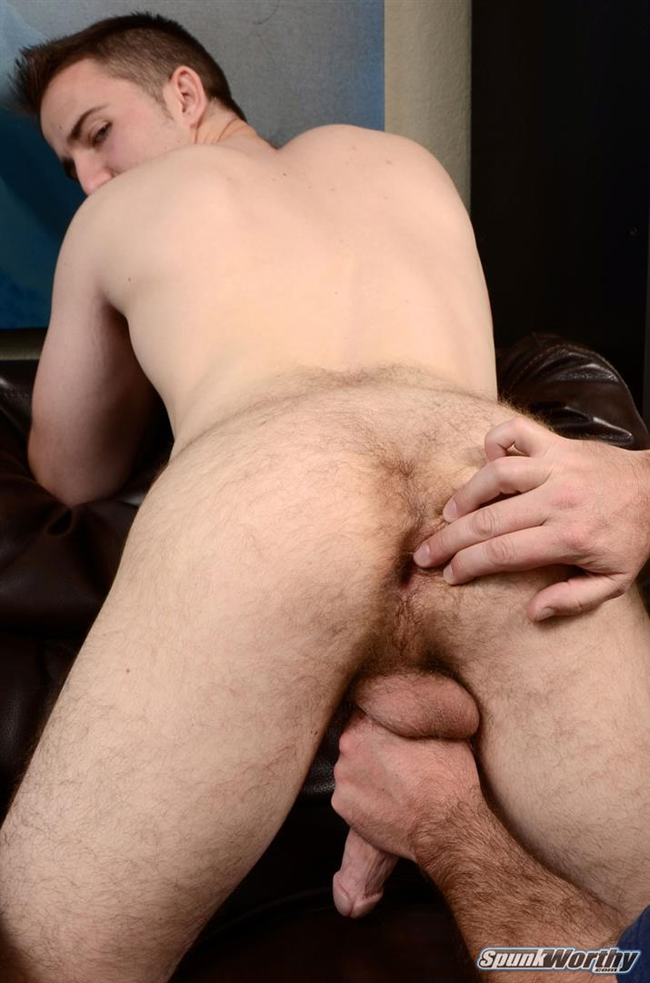SpunkWorthy-Jordan-Straight-Baseball-Player-Gets-A-Blowjob-And-Fingered-Hairy-Ass-Amateur-Gay-Porn-11 Straight College Baseball Player Gets Blown And Fingered By A Guy