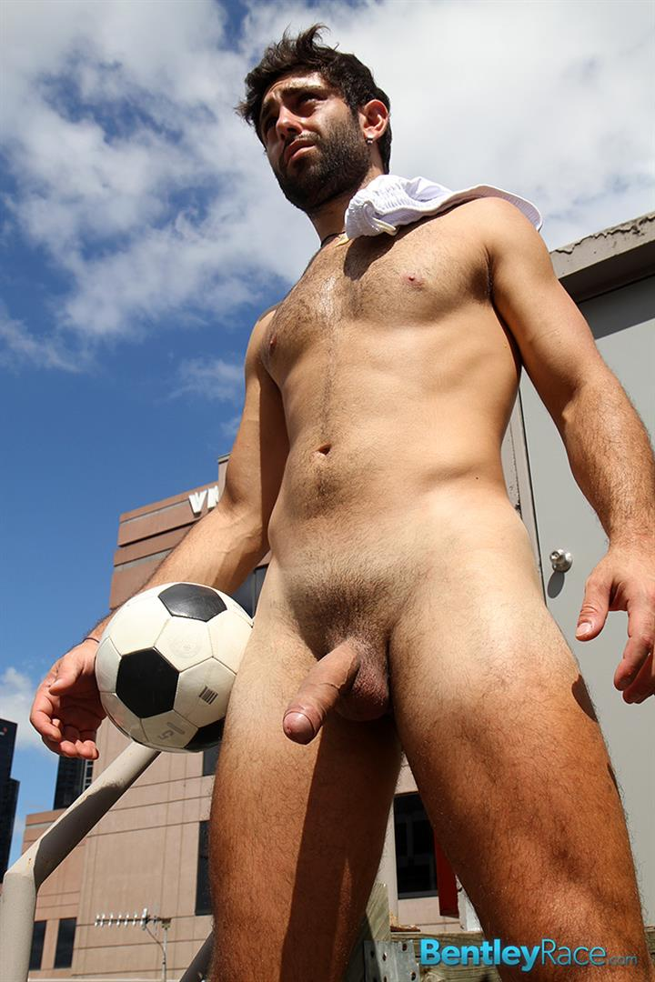 Bentley-Race-Adam-El-Shawar-Middle-Eastern-Soccer-Play-With-A-Huge-Uncut-Cock-Amateur-Gay-Porn-19 Straight Middle Eastern Soccer Player Jerking His Big Uncut Cock