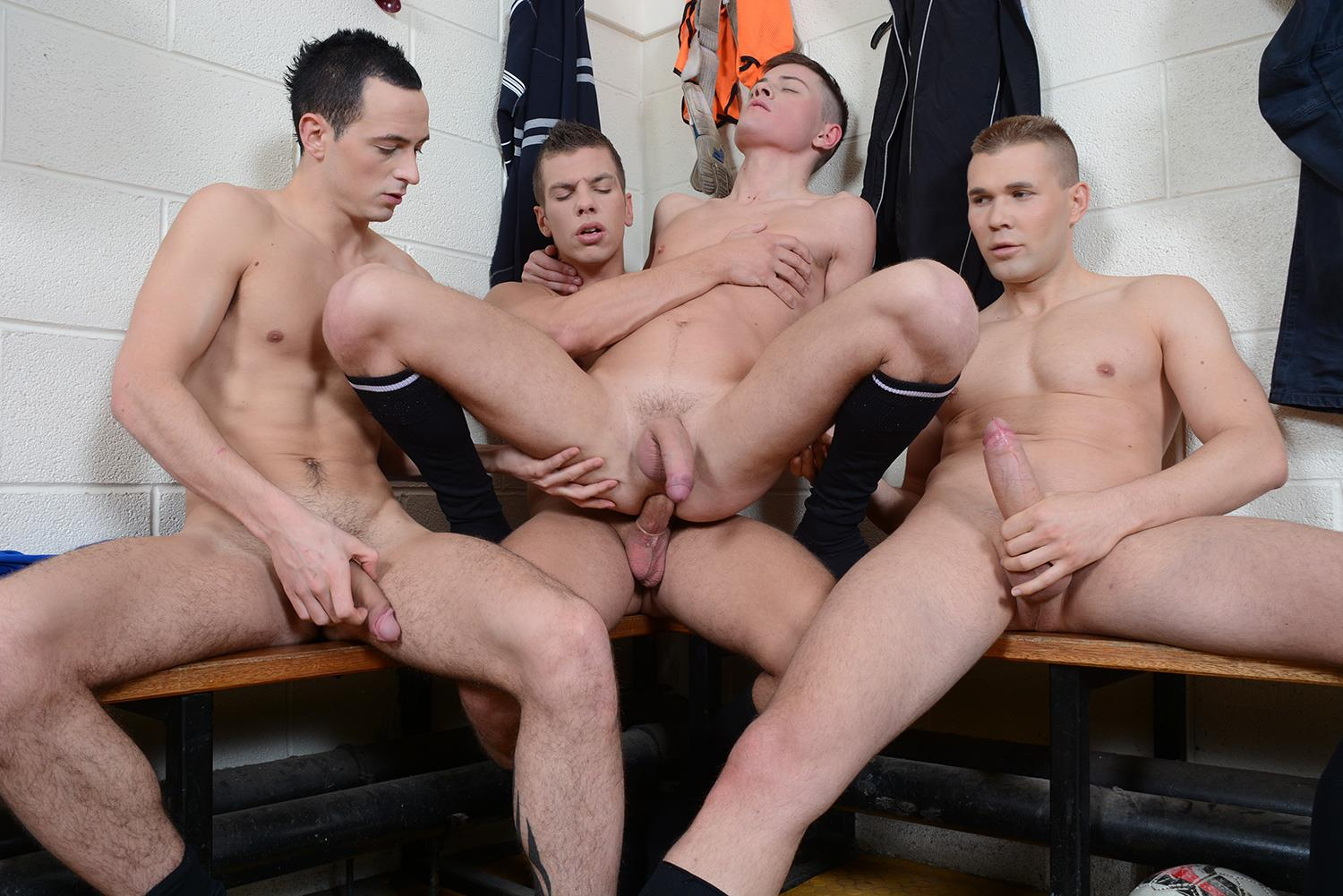 Staxus-Sportladz-Jordan-Fox-and-Luke-Desmond-and-Paul-Walker-and-Skylar-Blu-Amateur-Gay-Porn-09 World Cup Fever: Uncut Soccer Players Fucking In The Locker Room