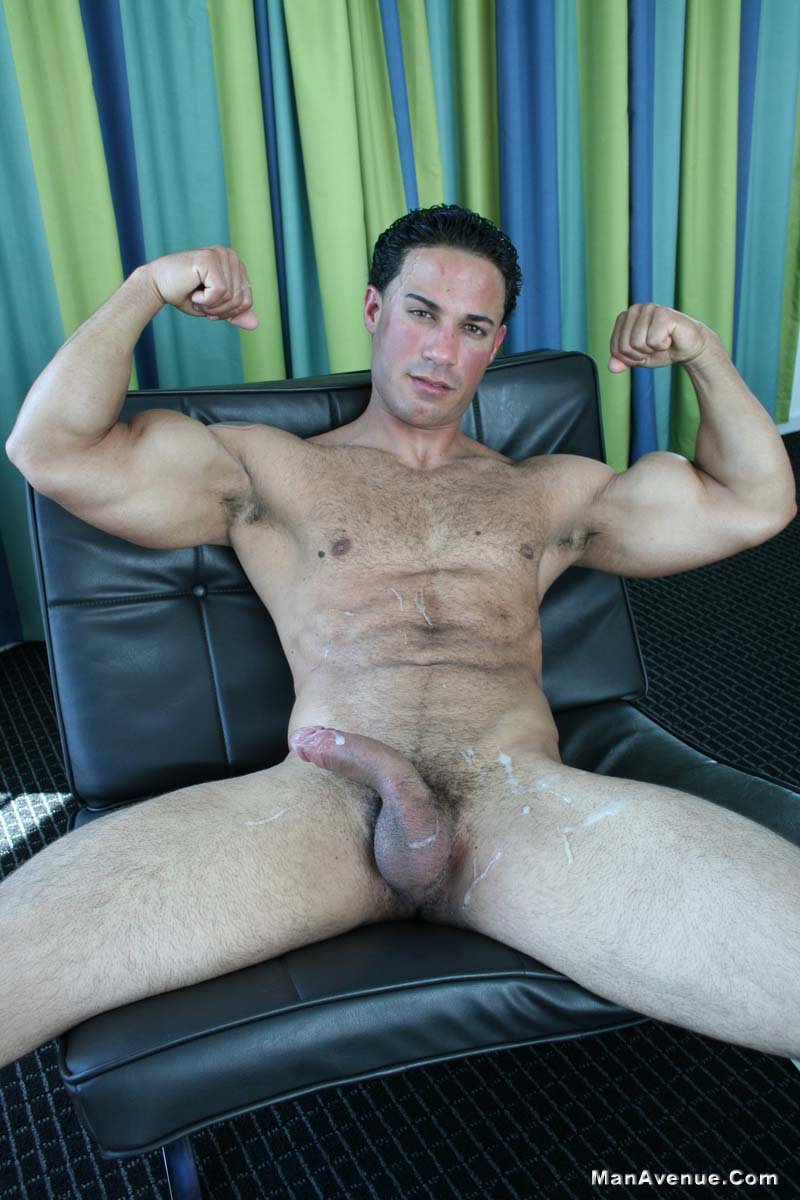 Man-Avenue-14-Muscle-Hunks-Jerking-Off-and-Shooting-Cum-Amateur-Gay-Porn-06 14 Naked Muscle Hunks Jerking Off And Shooting Big Loads Of Cum