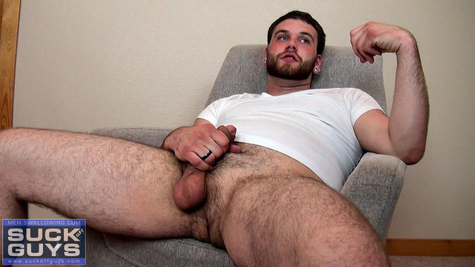 Suck-Off-Guys-Tyler-Beck-Hairy-Cub-Gets-Cock-Sucked-Cum-Eating-Amateur-Gay-Porn-04 Hairy Cub Gets His Thick Cock Drained And Prostrate Massaged