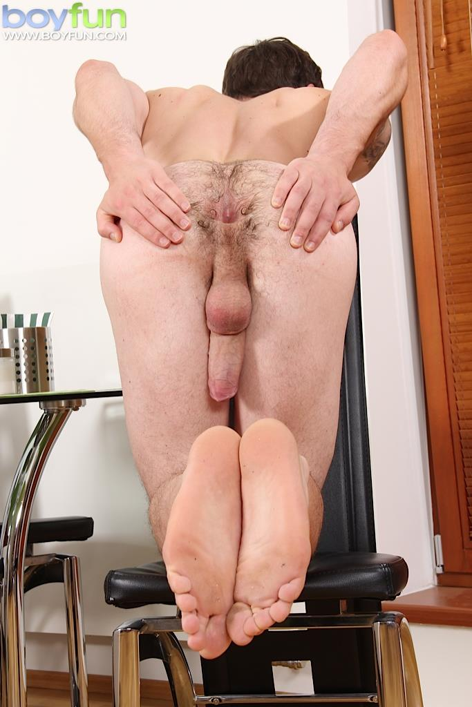 Hairyass Amateur Jerking Off His Big Dick