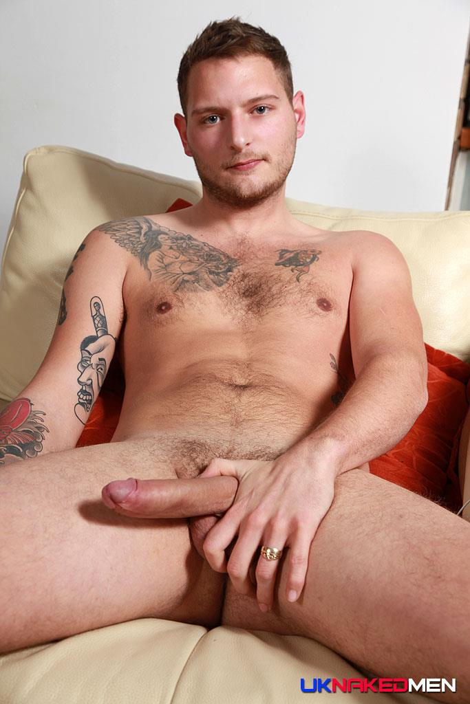 UK-Naked-Men-Dan-Stone-British-Guy-Naked-With-Big-Uncut-Cock-Amateur-Gay-Porn-08 Bisexual British Guy Dan Stone Jerking Off His Big Uncut Cock