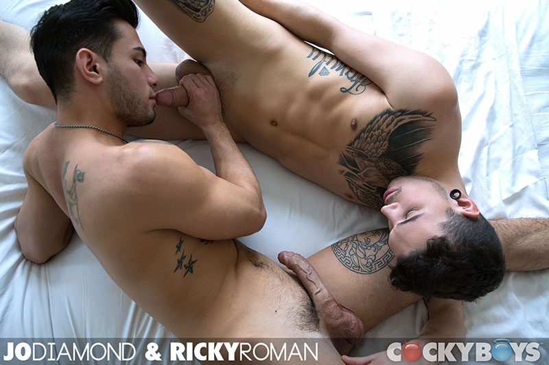 Cockyboys Jo Diamond and Ricky Roman Guys With Big Uncut Cocks Fucking Amateur Gay Porn 10 Cockyboys: Jo Diamond and Ricky Roman Fucking With Big Uncut Cocks