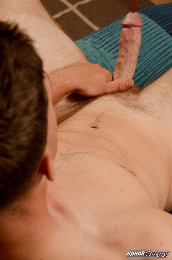 SpunkWorthy-David-21-Year-Old-Straight-Guy-Jerking-Off-Big-Cock-Amateur-Gay-Porn-16 Straight 21 Year Old Jock Jerks His Big Cock For Cash