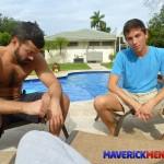 The-Maverick-Men-Drake-Amateur-Bareback-Daddy-Threeway-Amateur-Gay-Porn-04-150x150 The Maverick Men Take Turns Barebacking Young Drake's Ass