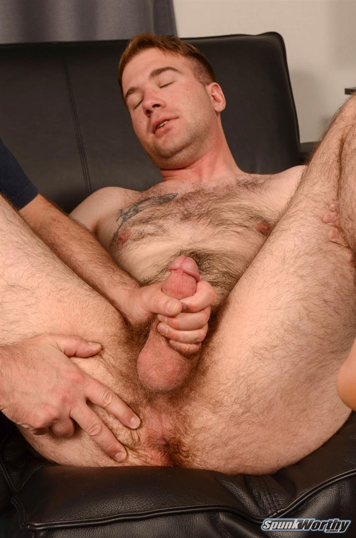 SpunkWorthy-Lance-Hairy-Naked-Marine-Getting-Blowjob-and-Rimmed-Amateur-Gay-Porn-07 Hairy Straight Marine Gets Rimmed and Blown By A Guy