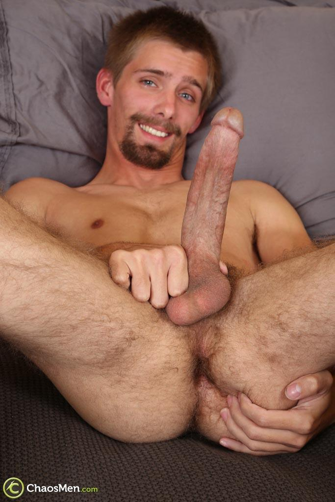 "Chaosmen-Augustine-Straight-Guy-With-A-Big-Horse-Cock-Amateur-Gay-Porn-29 Skinny Redneck With A Hairy Ass Stroking His 10"" Cock"