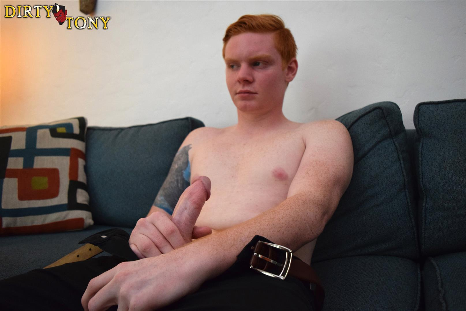 Dirty-Tony-Max-Breeker-Redheaded-Twink-Masturbation-Amateur-Gay-Porn-03 Bisexual 19 Year Old Redheaded Twink Auditions For Gay Porn