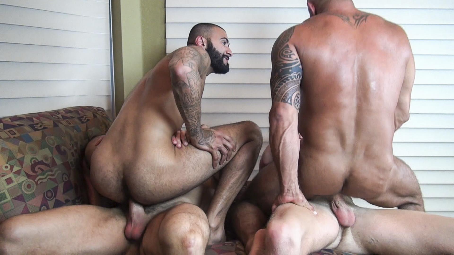 Bear bareback orgy