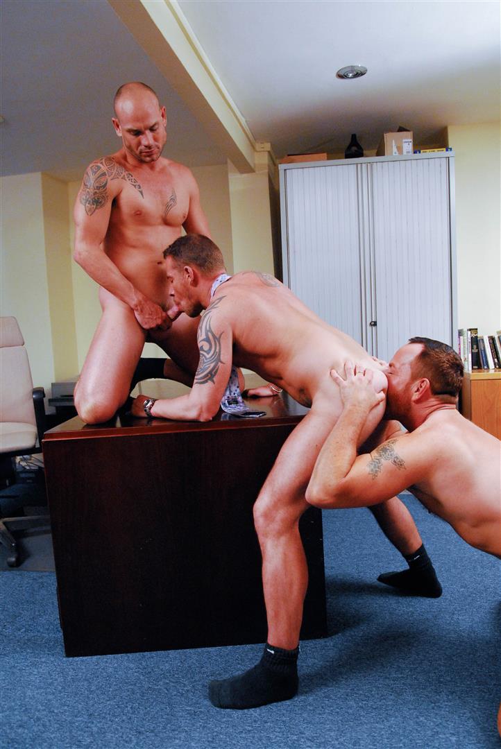 Bareback in workplace
