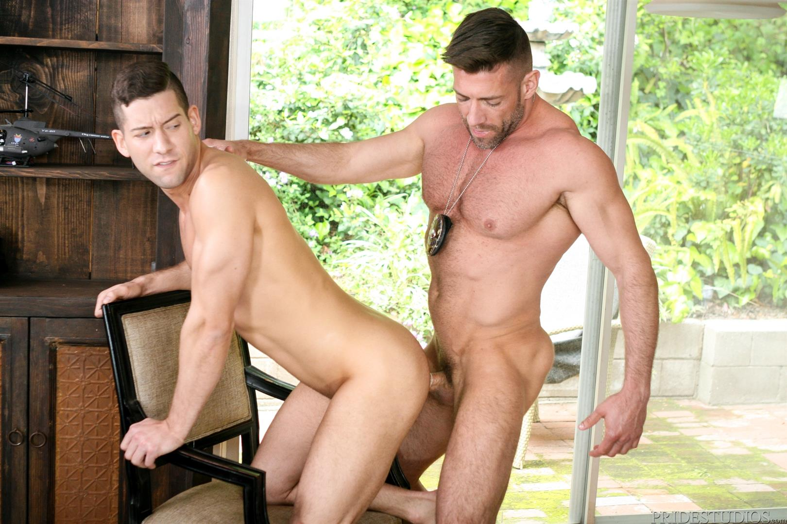 Dylan-Lucas-Kyle-Kash-and-Bruce-Beckham-Hairy-Muscle-Daddy-Fucking-Amateur-Gay-Porn-11 Hairy Muscle Daddy Bruce Beckham Fucks Kyle Kash