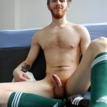 Bentley Race Tomas Kyle Redheaded Jock With A Big Uncut Cock 15 150x150 Ginger Jock Busts Out His Big Uncut Cock And Hairy Balls