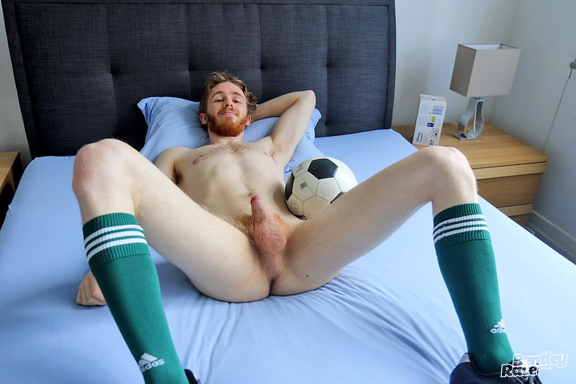 Bentley Race Tomas Kyle Redheaded Jock With A Big Uncut Cock 23 Ginger Jock Busts Out His Big Uncut Cock And Hairy Balls