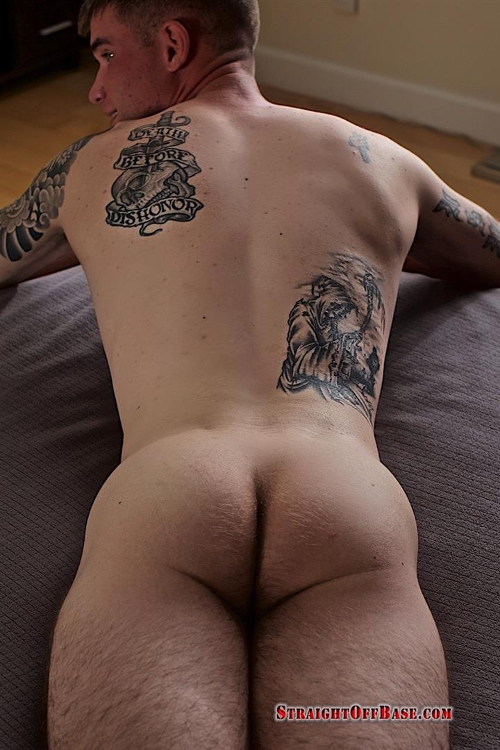 Straight-Off-Base-Brady-Naked-Marine-Jerking-Off-Big-Cock-Video-21 Straight Marine Jerks His Big Dick On Camera For Cash