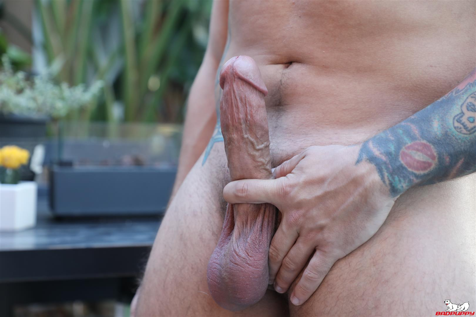Badpuppy-Eddie-Danger-Thick-Boy-Stroking-His-Fat-Cock-Cum-Video-07 Thick Go-Go Boy Stokes His Hard Fat Cock Until He Cums